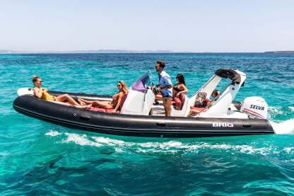 Rental RIB Brig Eagle 6,50 Ibiza