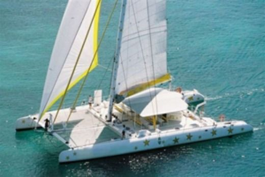 Motorboat Catamaran 25m peer-to-peer