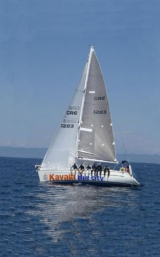 Charter sailboat in Kavala