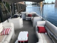 Motorboat Crest Pontoon for rental