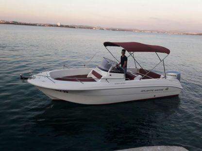 Rental Motorboat Atlantic 670 Open Tribunj