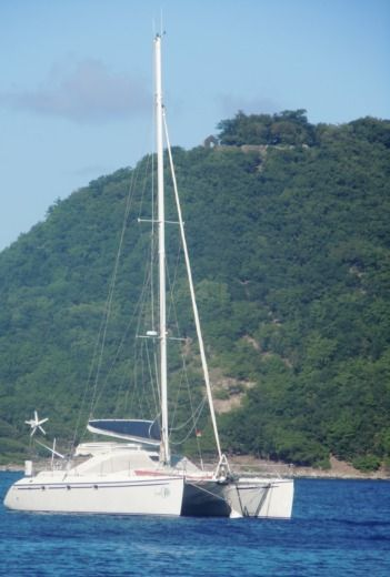 Catamaran PRIVILEGE 45 peer-to-peer