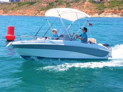 Rental Motorboat Marinello Remus 450 Cabo Roig