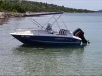 Motorboat Quicksilver 425 Commander