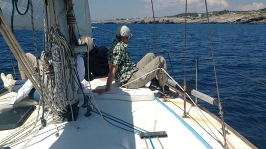 Cbs Serenity 35 in Leuca for hire