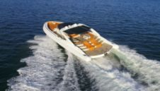 Charter motorboat in Miami