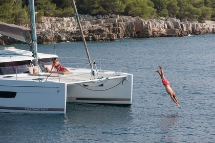 Hire Catamaran FOUNTAINE PAJOT Helia 44 Quatuor Evolution Road Town