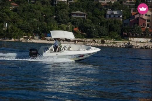 Motorboat Quicksilver 500 Open