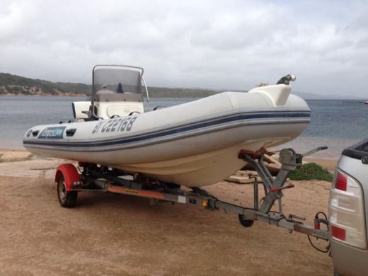RIB Capelli Tempest 500 for hire