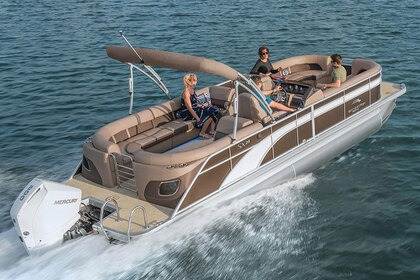 Hire Motorboat Pontoon Custom Peoria