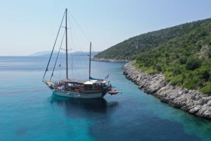 Rental Sailboat Motor Sailing Traditional Craft Skiathos