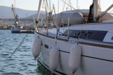 Charter sailboat in Loutraki