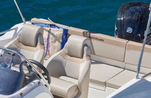 Motorboat Quicksilver Quicksilver Active 555 Open for hire