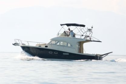 Rental Motorboat Damor Family 12 - Flybridge Trogir