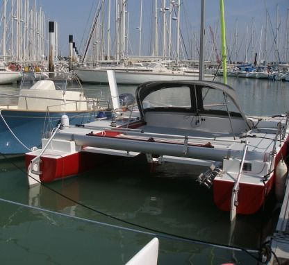 Rental Catamaran Multiraid Bicok21 La Rochelle