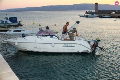 Rental Motorboat 2006 Galia 630 Senj