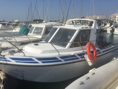 Charter Motorboat Marc Import Clear Liner 600 Cabine Palavas-les-Flots