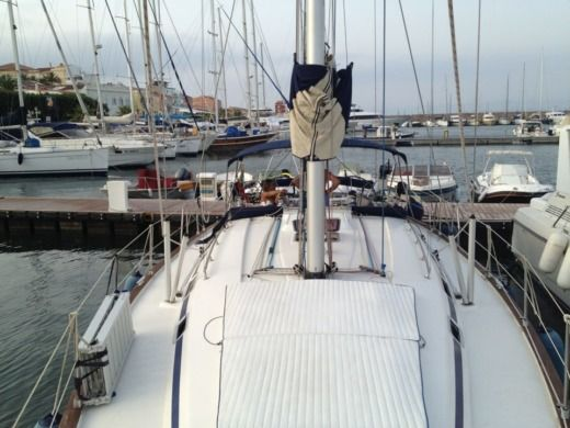 Charter sailboat in Cagliari peer-to-peer