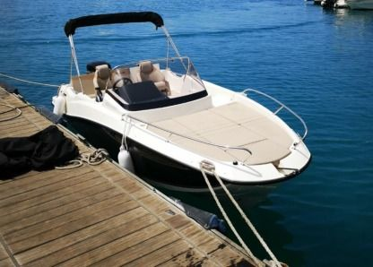 Charter Motorboat Quicksilver Activ 605 Sundeck Pasito Blanco