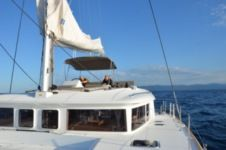 Charter catamaran in Ajaccio