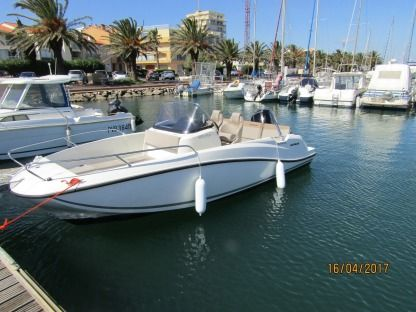 Rental Motorboat Quicksilver Activ Open 605 Canet-en-Roussillon