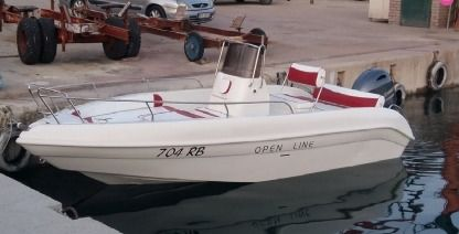 Rental Motorboat Bellingardo Lady 550 Rab