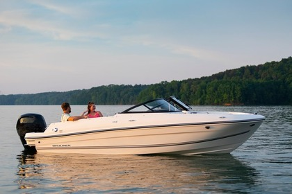 Hire Motorboat Bayliner Vr4 Tivar