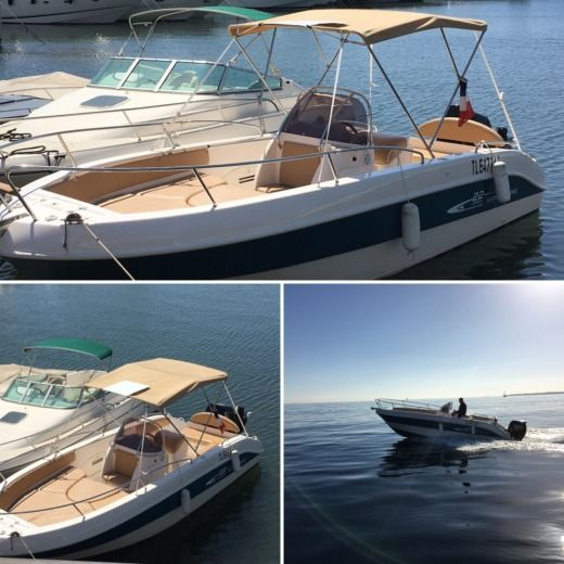 Mano'marine Open 22 in Golfe-Juan, Vallauris for hire