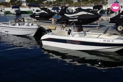 Alquiler Lancha Marinello Happy Fishing Open Puerto de Pollensa