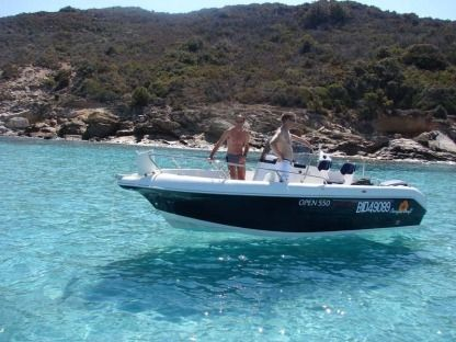 Rental Motorboat Pacific Craft Northshore Saint-Florent