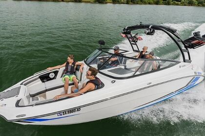 Hire Motorboat Yamaha AR 240 Twin Engine St. Petersburg