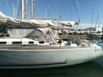 Charter Sailboat Beneteau First 40.7 Canet-en-Roussillon