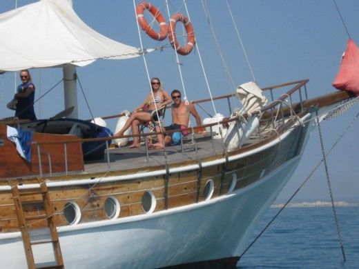 Sailboat Chantiers De Bodrum Caiques - Goelette for hire