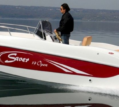 Charter Motorboat Saver Open 19 Rab