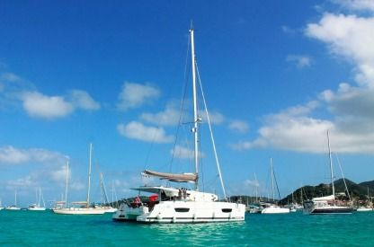 Charter Catamaran Fountaine Pajot Lucia 40 Road Town