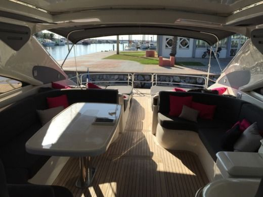 Princess V65 in Canet-en-Roussillon for hire