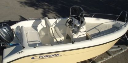 Rental Motorboat Poseidon Blue Water 480 Zakinthos