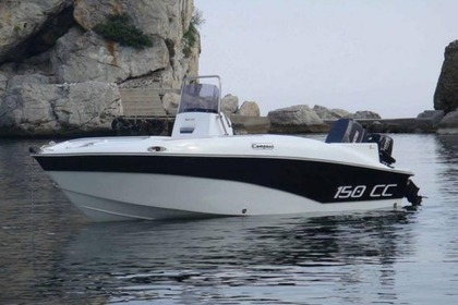 Charter Motorboat Compass 150cc Heraklion